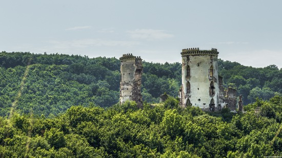 Chervonograd palace remains, Ternopil region, Ukraine, photo 14