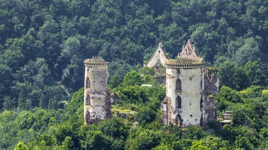 Chervonograd palace remains, Ternopil region, Ukraine, photo 3