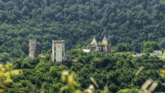 Chervonograd palace remains, Ternopil region, Ukraine, photo 4