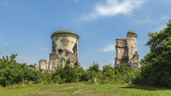 Chervonograd palace remains, Ternopil region, Ukraine, photo 9