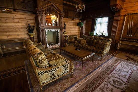 The former residence of Yanukovych in Mezhyhiria, Ukraine, photo 27