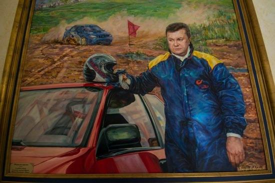 The former residence of Yanukovych in Mezhyhiria, Ukraine, photo 9