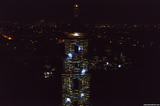 Light show at Sophia Square, Kyiv, Ukraine, photo 1