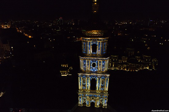 Light show at Sophia Square, Kyiv, Ukraine, photo 2