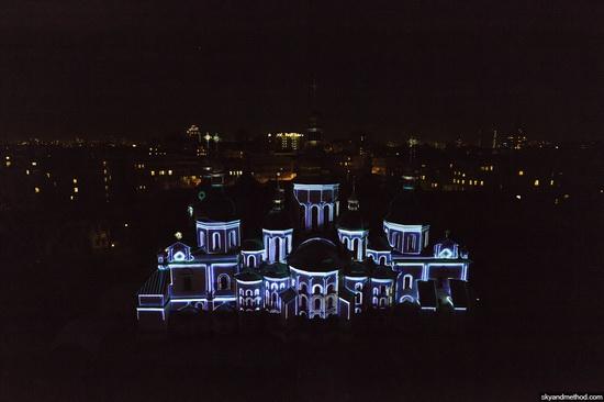 Light show at Sophia Square, Kyiv, Ukraine, photo 3