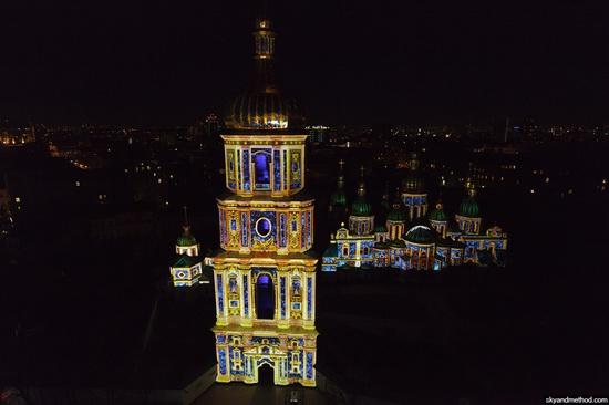 Light show at Sophia Square, Kyiv, Ukraine, photo 5
