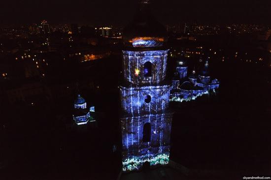 Light show at Sophia Square, Kyiv, Ukraine, photo 6