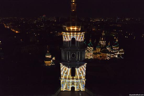 Light show at Sophia Square, Kyiv, Ukraine, photo 7