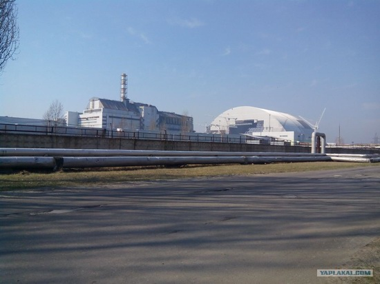The New Shelter, Chernobyl NPP, Pripyat, Ukraine, photo 1