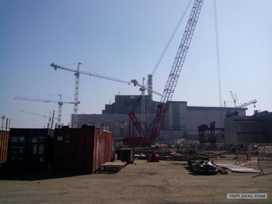 The New Shelter, Chernobyl NPP, Pripyat, Ukraine, photo 12