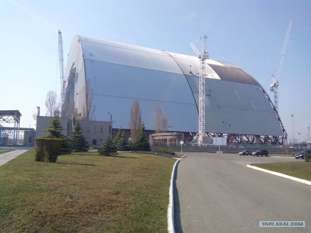 Construction of the New Shelter over Chernobyl NPP · Ukraine