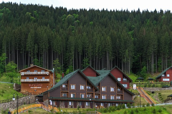Spring in Bukovel ski resort, Ukraine, photo 10