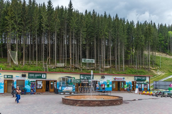 Spring in Bukovel ski resort, Ukraine, photo 12