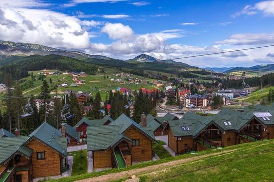 Spring in Bukovel ski resort, Ukraine, photo 17