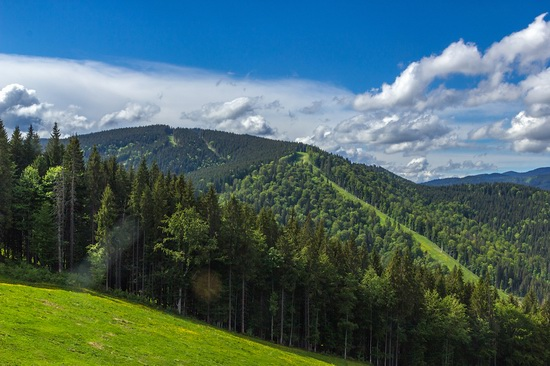 Spring in Bukovel ski resort, Ukraine, photo 21