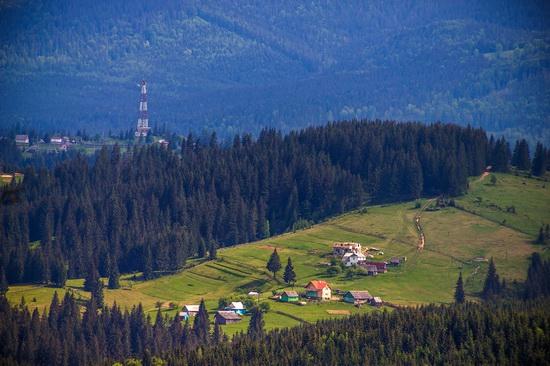 Spring in Bukovel ski resort, Ukraine, photo 23