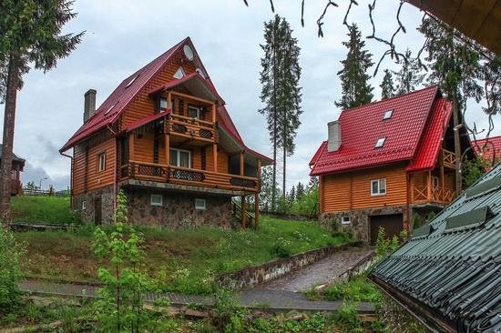 Spring in Bukovel ski resort, Ukraine, photo 3