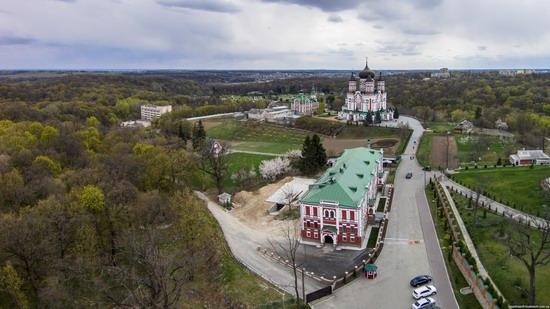 St. Panteleimon Monastery in Feofania Park, Kyiv, Ukraine, photo 1