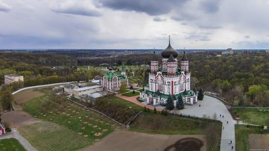 St. Panteleimon Monastery in Feofania Park, Kyiv, Ukraine, photo 2
