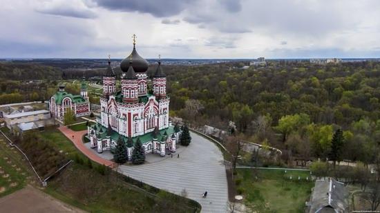 St. Panteleimon Monastery in Feofania Park, Kyiv, Ukraine, photo 3