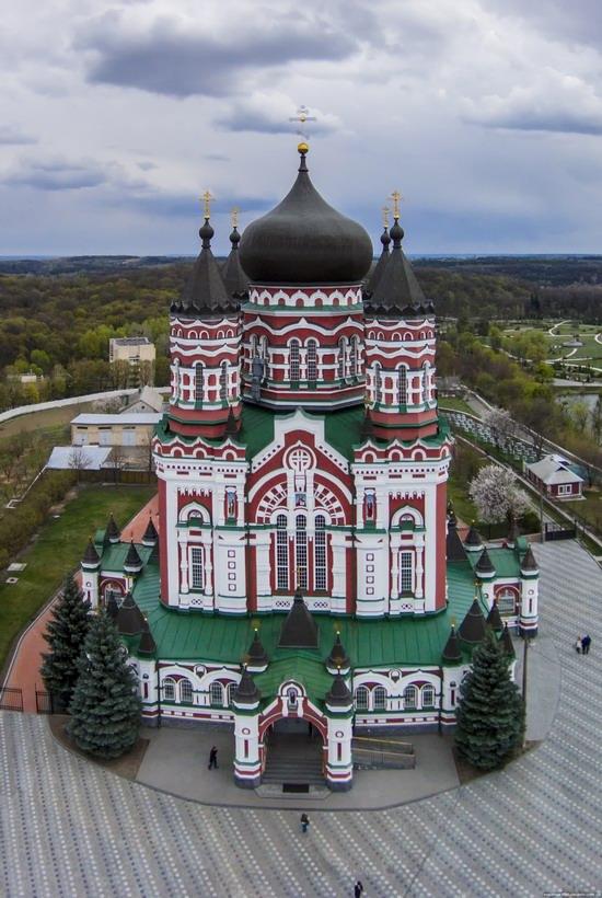 St. Panteleimon Monastery in Feofania Park, Kyiv, Ukraine, photo 4