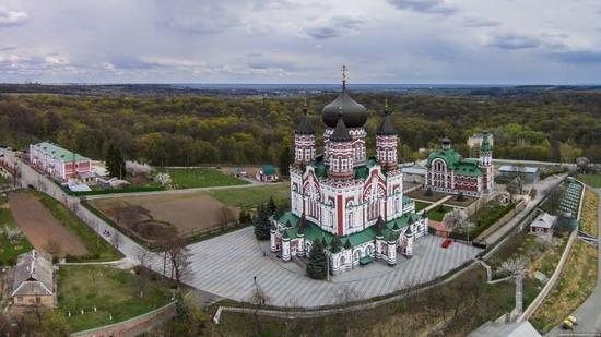 St. Panteleimon Monastery in Feofania Park, Kyiv, Ukraine, photo 5