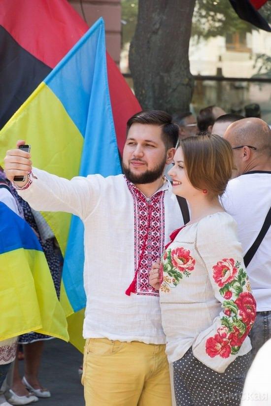 Marsh in national costumes, Odessa, Ukraine, photo 15