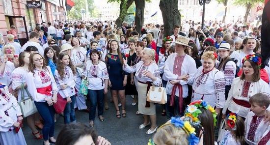 Marsh in national costumes, Odessa, Ukraine, photo 16