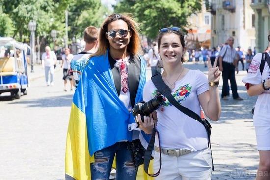 Marsh in national costumes, Odessa, Ukraine, photo 17