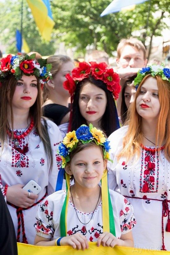 Marsh in national costumes, Odessa, Ukraine, photo 18