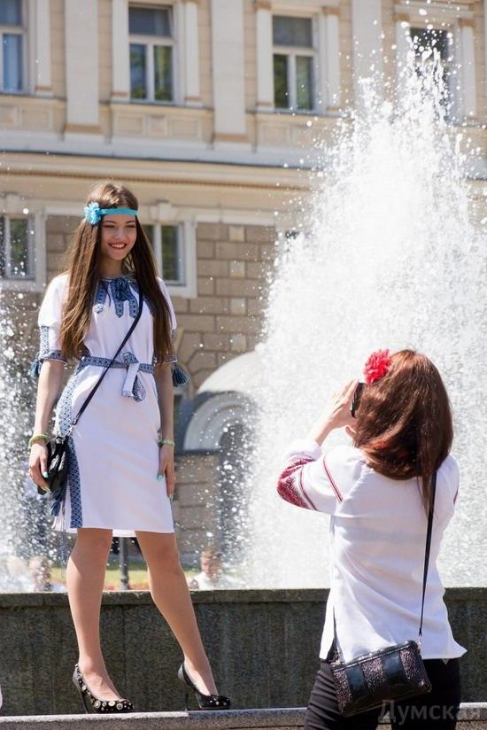 Marsh in national costumes, Odessa, Ukraine, photo 21