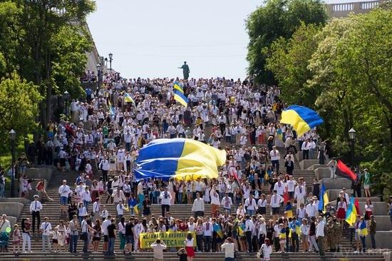 Marsh in national costumes, Odessa, Ukraine, photo 25