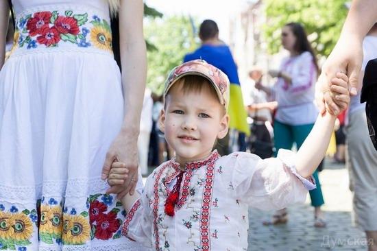 Marsh in national costumes, Odessa, Ukraine, photo 4