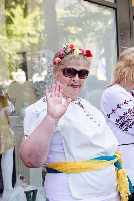 Marsh in national costumes, Odessa, Ukraine, photo 6