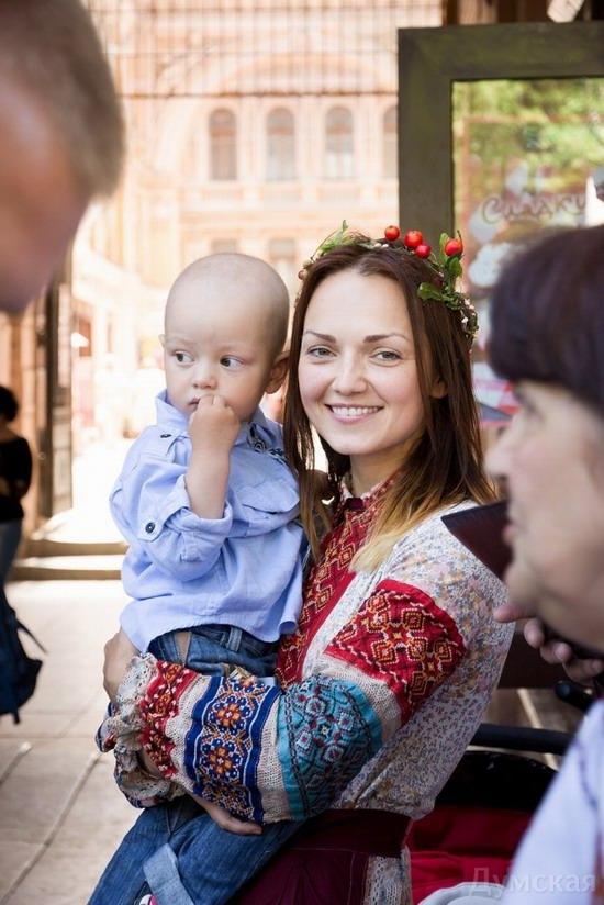 Marsh in national costumes, Odessa, Ukraine, photo 7