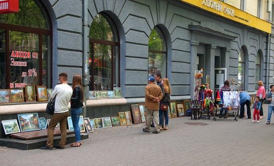 Poltava streets in spring, Ukraine, photo 10