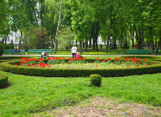 Poltava streets in spring, Ukraine, photo 7