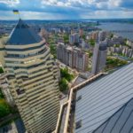 Dnepropetrovsk – on the roof of the tallest building
