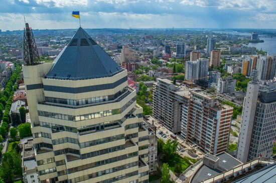 The tallest building in Dnepropetrovsk, Ukraine, photo 2