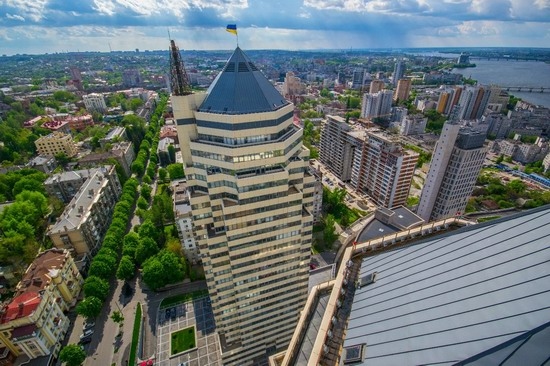 The tallest building in Dnepropetrovsk, Ukraine, photo 4