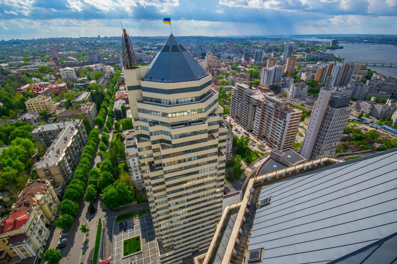 Dnepropetrovsk – on the roof of the tallest building · Ukraine ... Beautiful Fairy Pictures