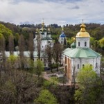 Vudubickiy Monastery in Kyiv