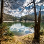 Lake Synevyr in the Carpathian Mountains