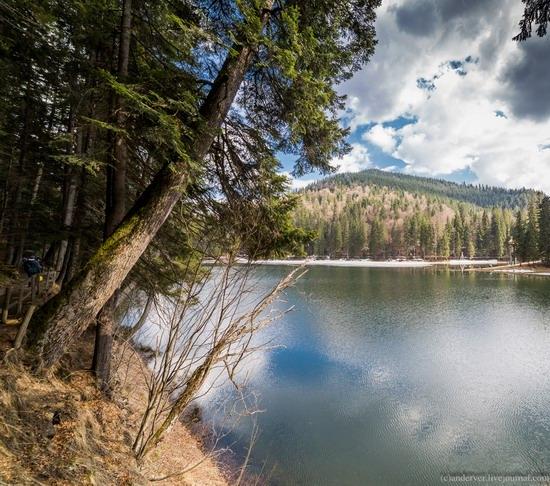 Lake Synevyr, the Carpathians, Ukraine, photo 7