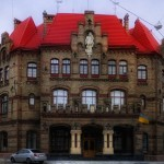 Lviv fire station – a brick masterpiece in Romanesque style