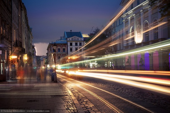 One evening in Lviv after the rain, Ukraine, photo 1
