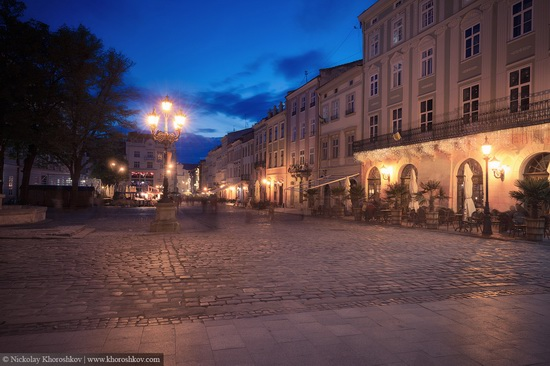 One evening in Lviv after the rain, Ukraine, photo 3