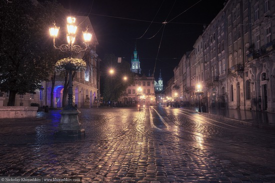 One evening in Lviv after the rain, Ukraine, photo 4
