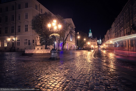 One evening in Lviv after the rain, Ukraine, photo 6