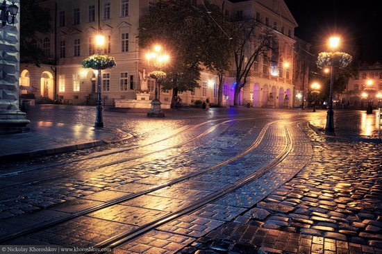 One evening in Lviv after the rain, Ukraine, photo 7